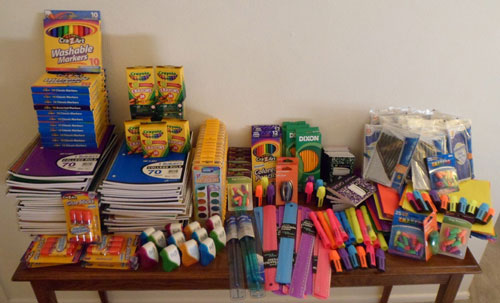 Incontinence Panteez 1st Annual School Supplies Donation