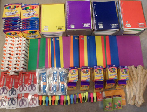 Incontinence Panteez 2nd Annual School Supplies Donation